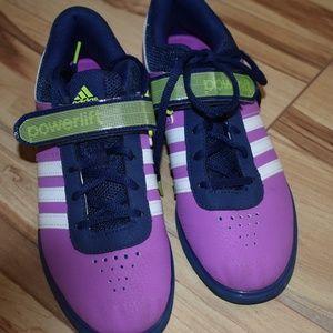 Adidas lifting shoes,